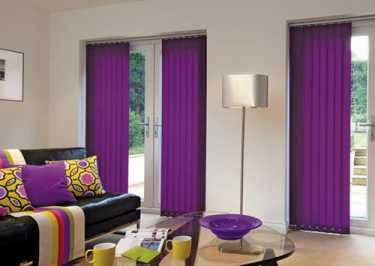 Vertical Louvre Blinds